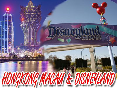 6D5N Hongkong Macau Shenzhen   Disneyland